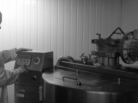 The Vessel in the Lab at Arcania Apothecary, Wells, Somerset