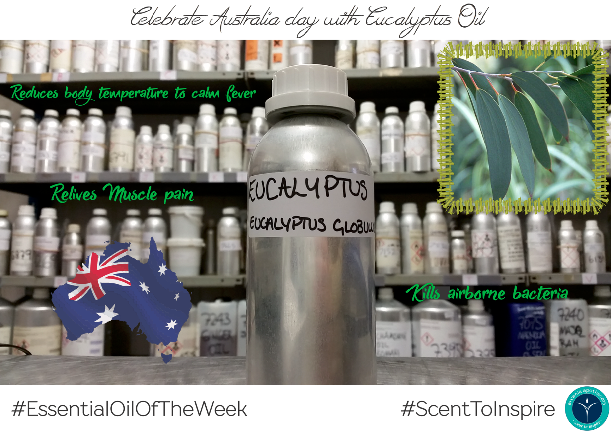 Eucalyptus Essential Oil of the week by Arcania Apothecary