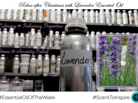 Lavender Essential Oil of the Week from Arcania Apothecary