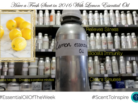 Lemon Essential Oil Of The Week, Natural Fragrance
