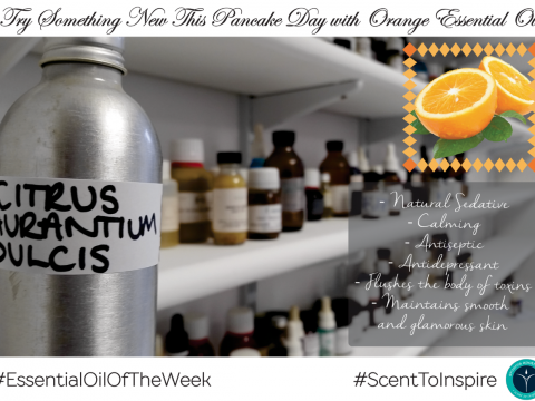 Essential Oil of the Week - Orange